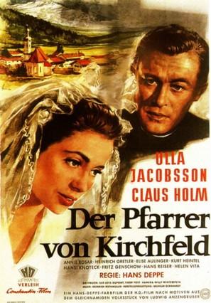 Der Pfarrer von Kirchfeld - German Movie Poster (thumbnail)