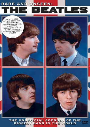 Rare and Unseen: The Beatles - DVD cover (thumbnail)