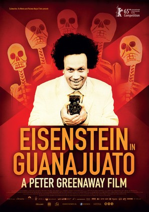 Eisenstein in Guanajuato - Dutch Movie Poster (thumbnail)