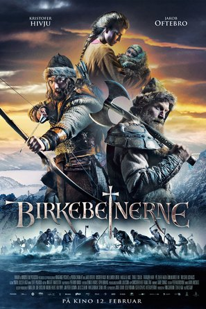 Birkebeinerne - Norwegian Movie Poster (thumbnail)