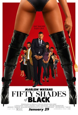 Fifty Shades of Black - Movie Poster (thumbnail)