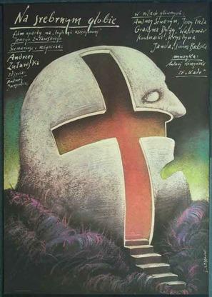 Na srebrnym globie - Polish Movie Poster (thumbnail)