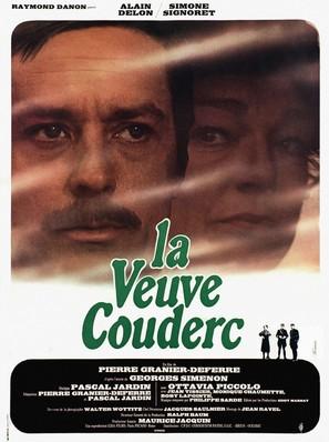 Veuve Couderc, La - French Movie Poster (thumbnail)