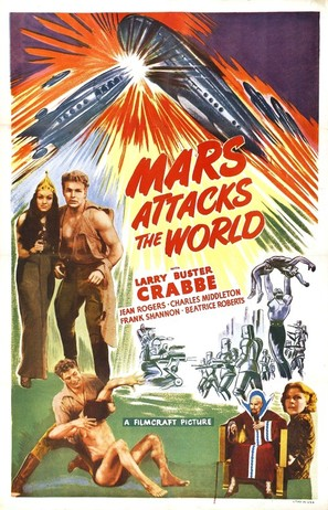 Mars Attacks the World - Movie Poster (thumbnail)