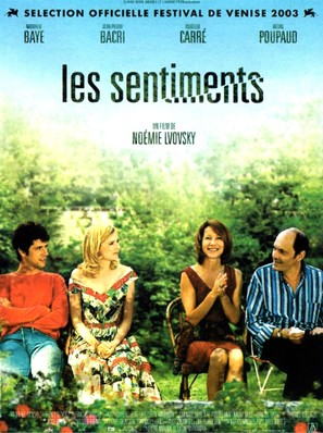 Les sentiments - French Movie Poster (thumbnail)