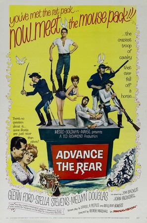 Advance to the Rear - Movie Poster (thumbnail)