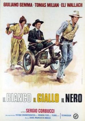 Il bianco, il giallo, il nero - Italian Movie Poster (thumbnail)