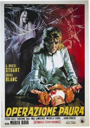Operazione paura - Italian Movie Poster (thumbnail)