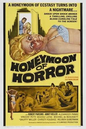 Honeymoon of Horror - Movie Poster (thumbnail)