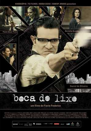 Boca do Lixo - Brazilian Movie Poster (thumbnail)
