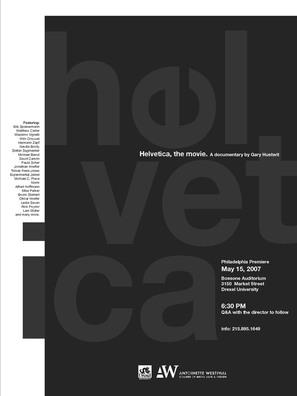 Helvetica - poster (thumbnail)