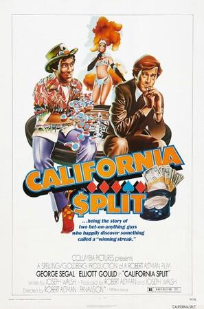 California Split - Movie Poster (thumbnail)