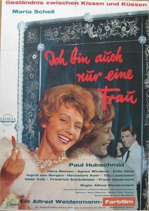 Ich bin auch nur eine Frau - German Movie Poster (thumbnail)