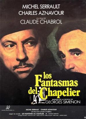 Les fantômes du chapelier - Spanish Movie Poster (thumbnail)
