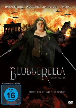 Blubberella - German DVD cover (thumbnail)