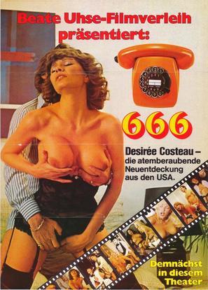 666 - German Movie Poster (thumbnail)