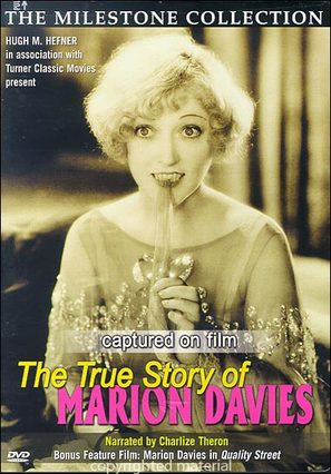 Captured on Film: The True Story of Marion Davies - DVD movie cover (thumbnail)