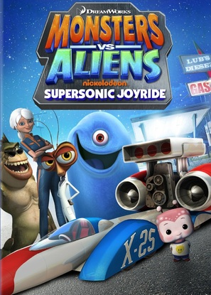 """Monsters vs. Aliens"" - DVD movie cover (thumbnail)"
