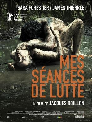 Mes séances de lutte - French Movie Poster (thumbnail)
