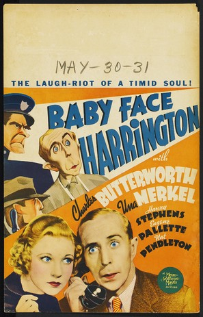 Baby Face Harrington - Movie Poster (thumbnail)