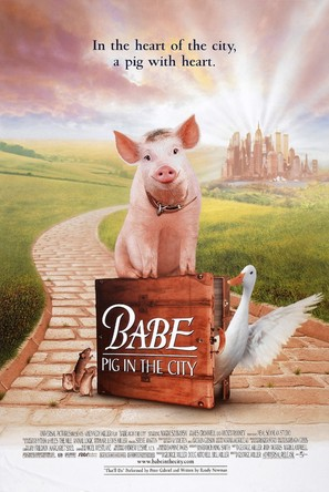 Babe: Pig in the City - Movie Poster (thumbnail)
