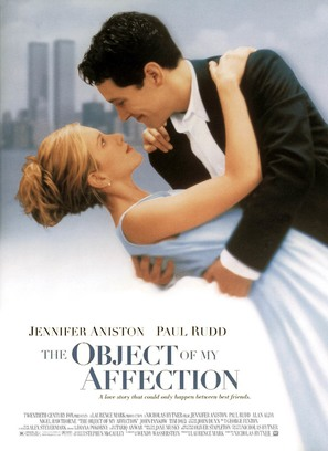 The Object of My Affection - Movie Poster (thumbnail)