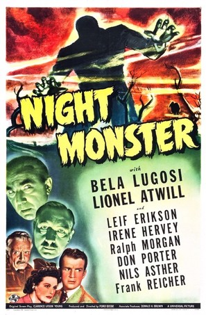 Night Monster - Movie Poster (thumbnail)