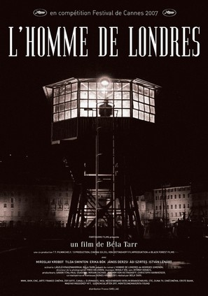 A Londoni férfi - French Movie Poster (thumbnail)