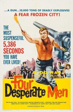 Four Desperate Men - Movie Poster (thumbnail)