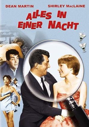All in a Night's Work - German Movie Poster (thumbnail)