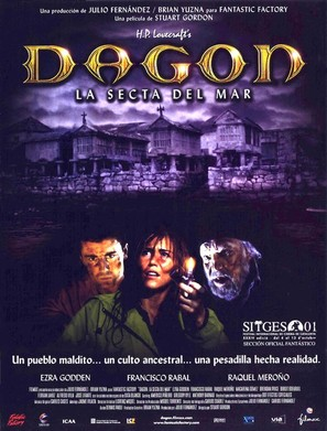 Dagon - Spanish Movie Poster (thumbnail)