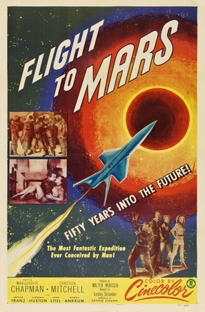 Flight to Mars - Movie Poster (thumbnail)