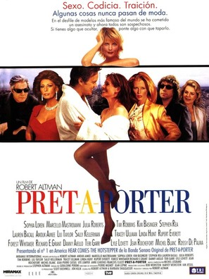 Prêt-à-Porter - Spanish Movie Poster (thumbnail)