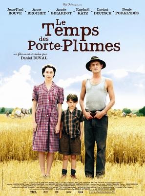 Temps des porte-plumes, Le - French Movie Poster (thumbnail)