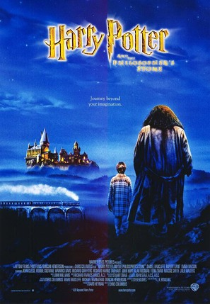 Harry Potter and the Sorcerer's Stone - British Movie Poster (thumbnail)