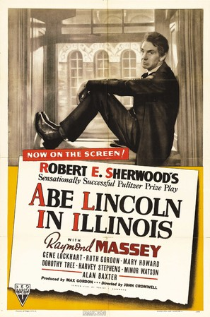Abe Lincoln in Illinois - Movie Poster (thumbnail)