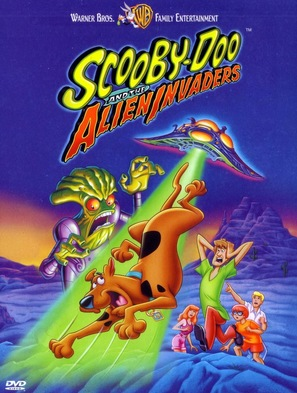 Scooby-Doo and the Alien Invaders - DVD movie cover (thumbnail)
