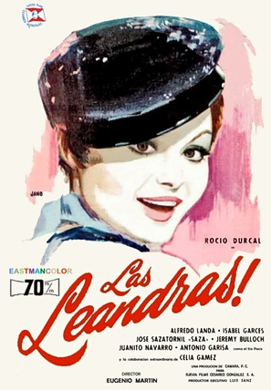 Las leandras - Spanish Movie Poster (thumbnail)