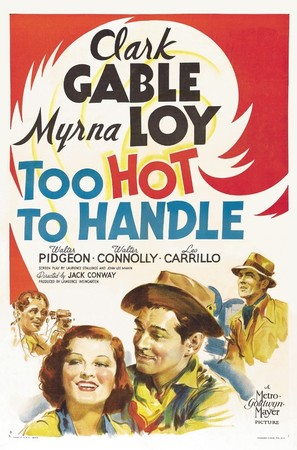Too Hot to Handle - Movie Poster (thumbnail)
