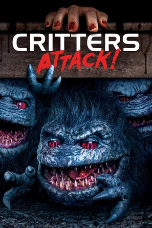 Critters Attack! - DVD movie cover (thumbnail)