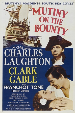 Mutiny on the Bounty - Movie Poster (thumbnail)