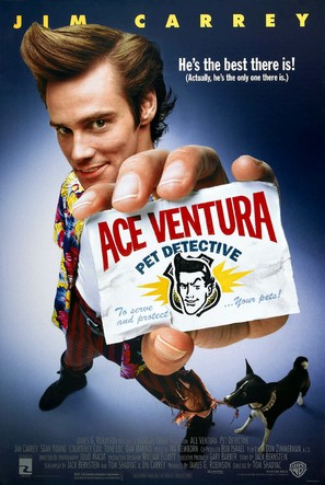 Ace Ventura: Pet Detective - Movie Poster (thumbnail)