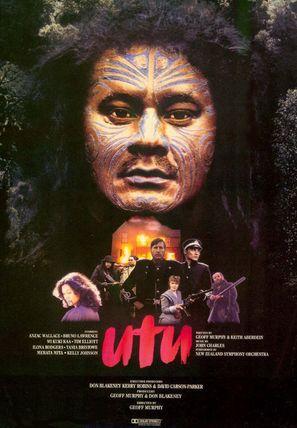 Utu - New Zealand Movie Poster (thumbnail)
