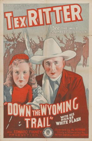 Down the Wyoming Trail - Movie Poster (thumbnail)