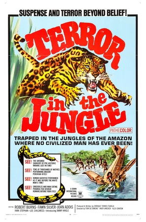 Terror in the Jungle - Movie Poster (thumbnail)