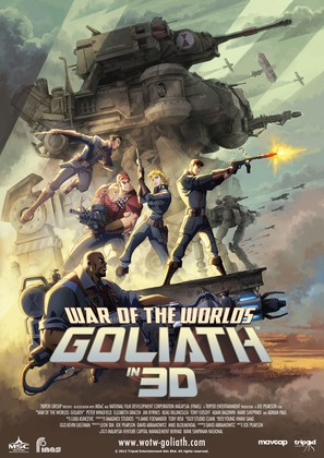 War of the Worlds: Goliath - Malaysian Movie Poster (thumbnail)