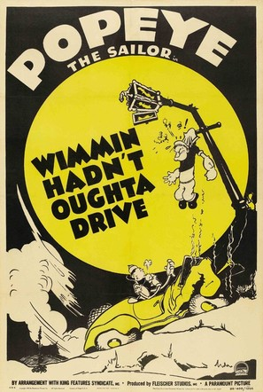 Wimmin Hadn't Oughta Drive - Movie Poster (thumbnail)