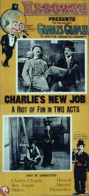 His New Job - Movie Poster (thumbnail)