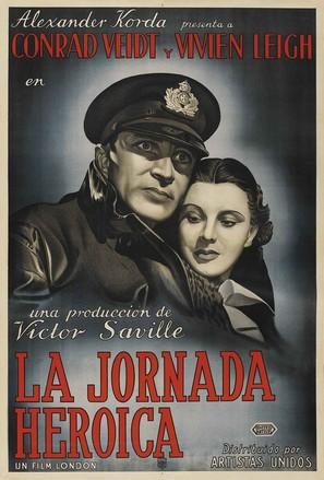 Dark Journey - Argentinian Movie Poster (thumbnail)