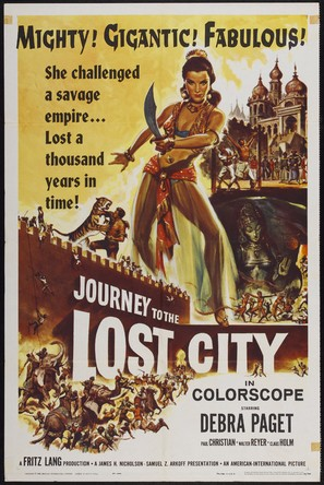 Journey to the Lost City - Movie Poster (thumbnail)